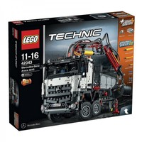 Mercedes-Benz Arocs 3245 Lego Technic 42043 Подмята упаковка